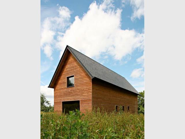 la maison en bois a tout gagner. Black Bedroom Furniture Sets. Home Design Ideas