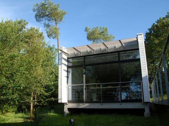Lauréat « Petits Espaces » - maisons individuelles d'une surface ≤ à 110 m2 - Palmarès du Salon Maison Bois 2007