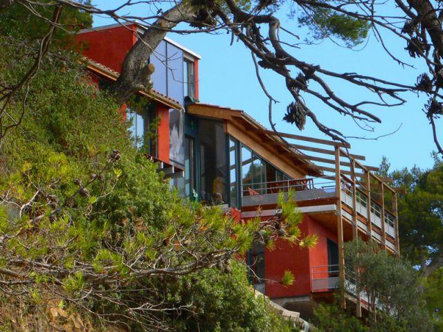 Lauréat « Grands Espaces » - maisons individuelles d'une surface > à 110 m2 - Palmarès du Salon Maison Bois 2007