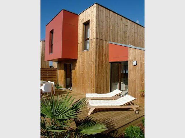 Lauréat «Habitat groupé et collectif» - Palmarès du Salon Maison Bois 2007