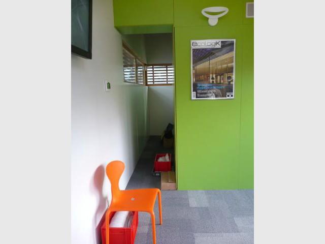 Espace d'accueil - Maison 2050