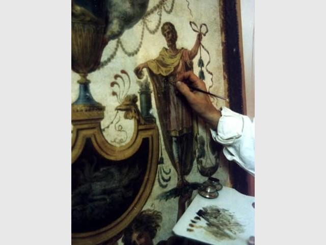 Restauration de tableaux - Salon du Patrimoine Culturel