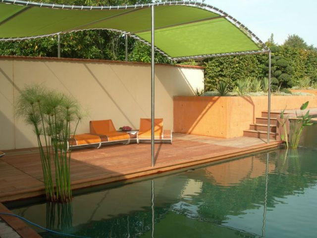 Structure protectrice - piscine