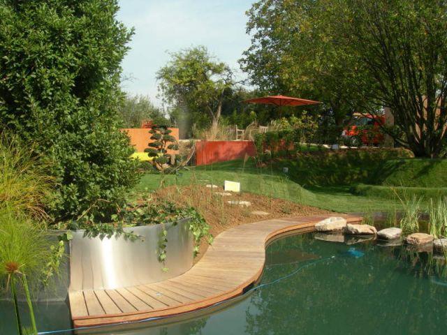 Projet d'aménagement paysager global - piscine