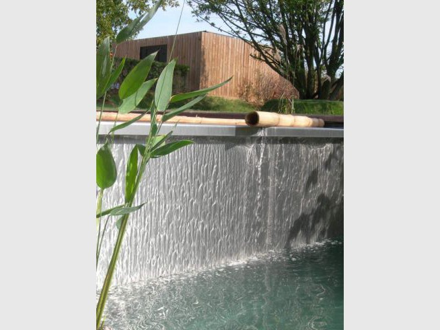 Rideau d'eau - piscine