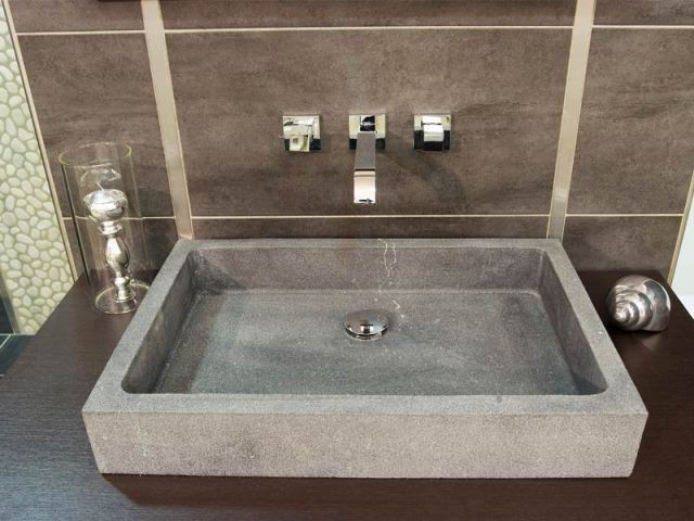 Détail d'un lavabo - Lavabo Aquamondo