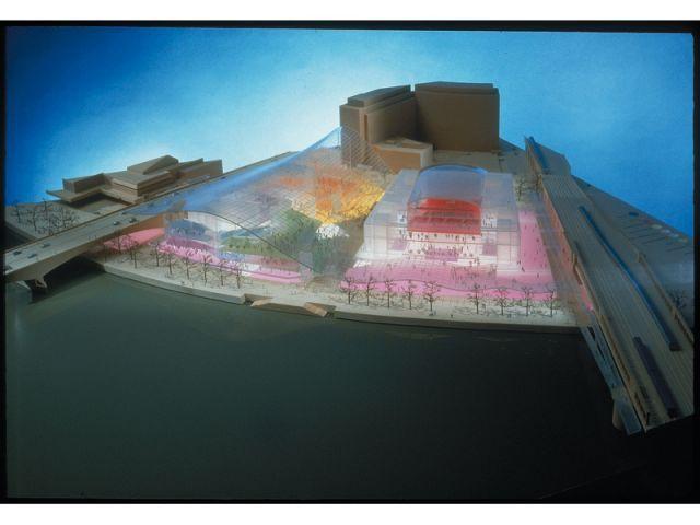 Plan d'aménagement du quartier de South Bank - pritzker2007
