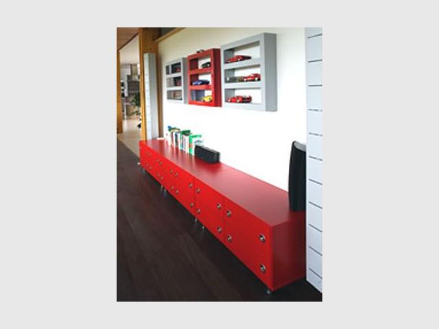 Mobilier - Henri David - maison contemporaine bois