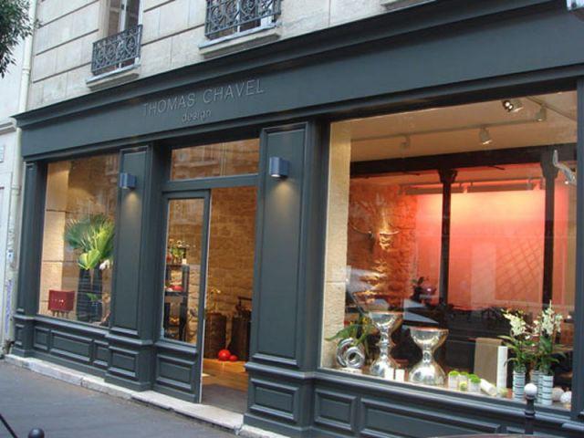 façade boutique thomas chavel design
