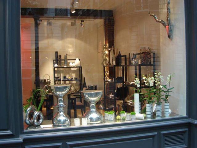 Vitrine de la boutique Thomas Chavel design - vitrine Thomas Chavel design