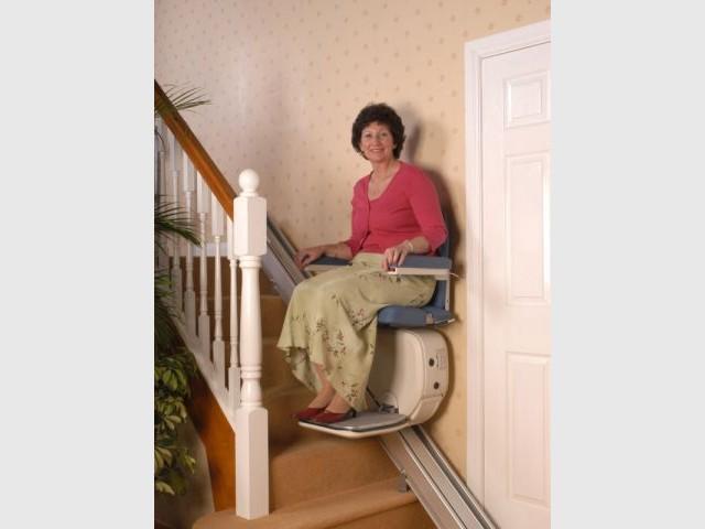 dossier accessibilité - chaise monte-escalier