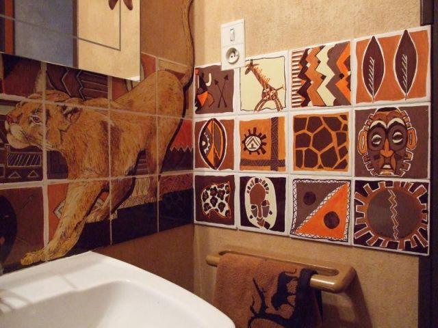 Carrelage - reportage WC - chez Sylvie