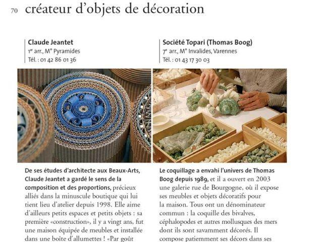artisans metiers d'art createur deco