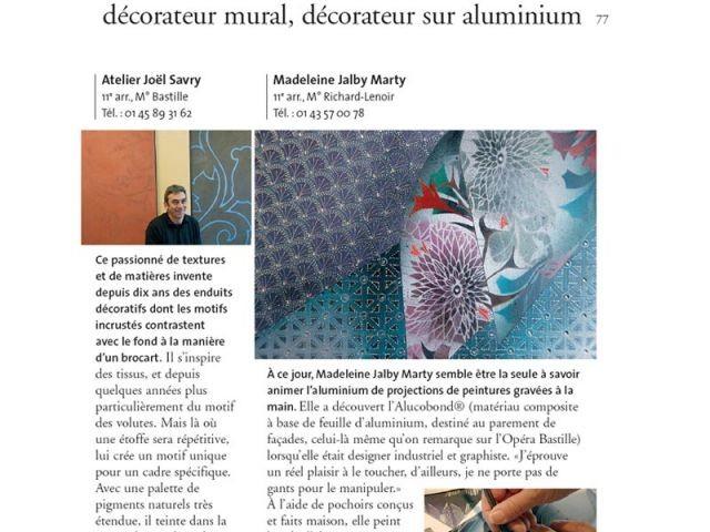 artisans et metiers d'art décorateur mural