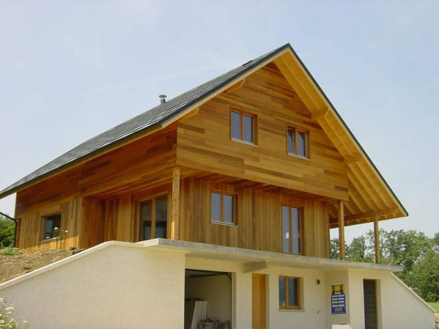 Maison Zen coté Est - Maison zero énergie Cythélia