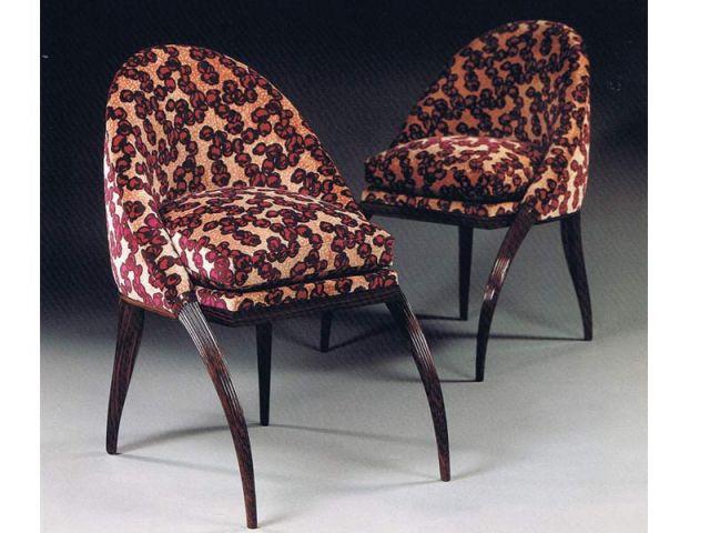 Paire de chaises Emile-Jacques Ruhlmann