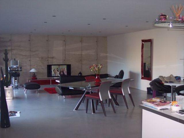 Salon - reportage maison Vriet
