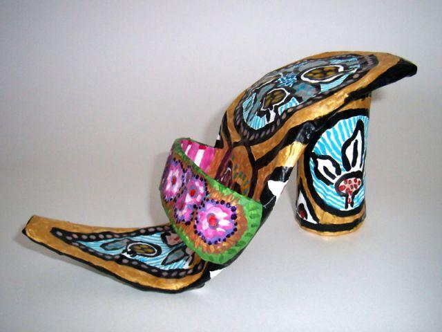 chaussure cendrillon exposition Trésor