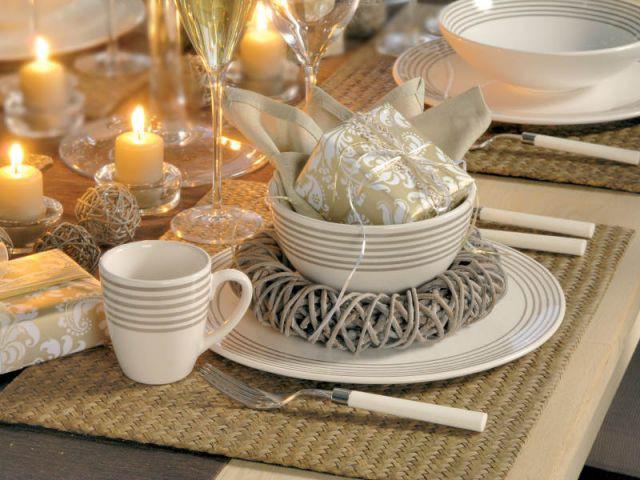 Casa - tables décorées