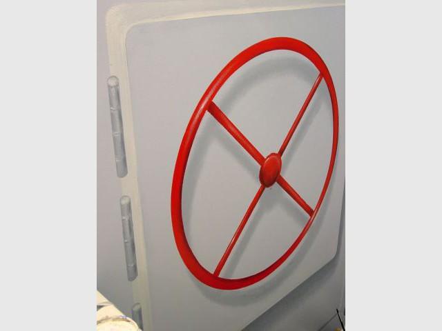 Manivelle - WC décorés - sous-marin