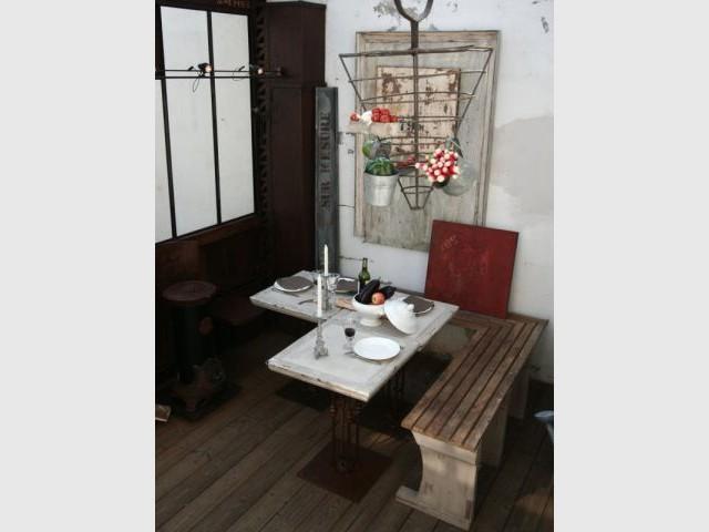 Un intérieur décoré - verriere Nantes - Frédéric Tabary
