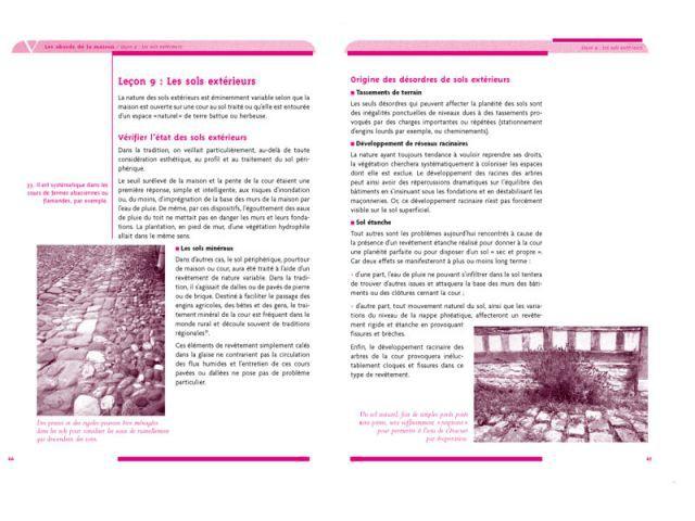 """Pages 66-67 """"Entretenir sa maison en 10 leçons"""" - Entretenir sa maison en 10 leçons"""