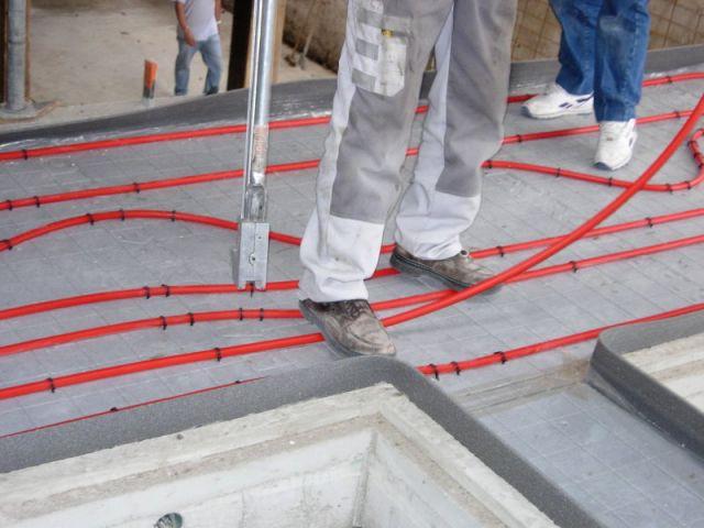 grange - plancher chauffant - Thermozyklus