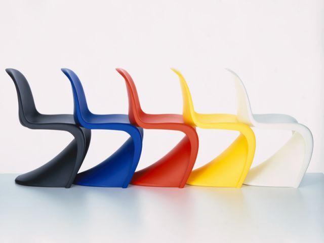 panton chair couleurs