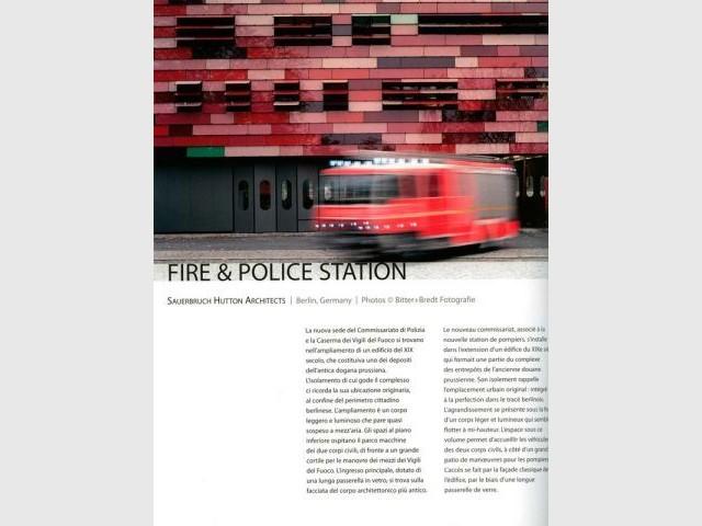 Commissariat et pompiers