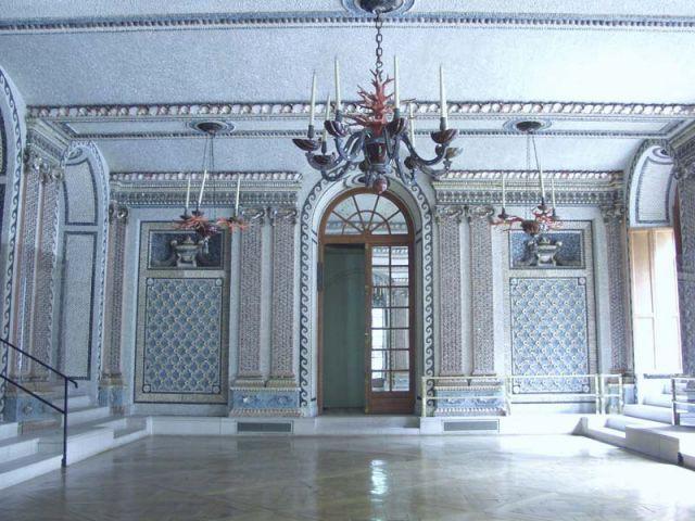 La salle des coquillages - Hôtel Arturo Lopez
