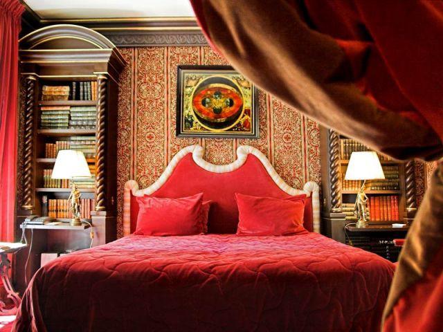 chambre baroque l'hotel