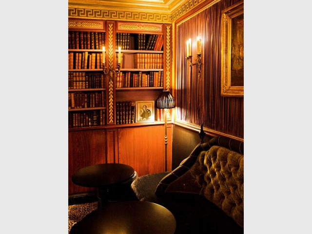 bibliotheque l'Hotel