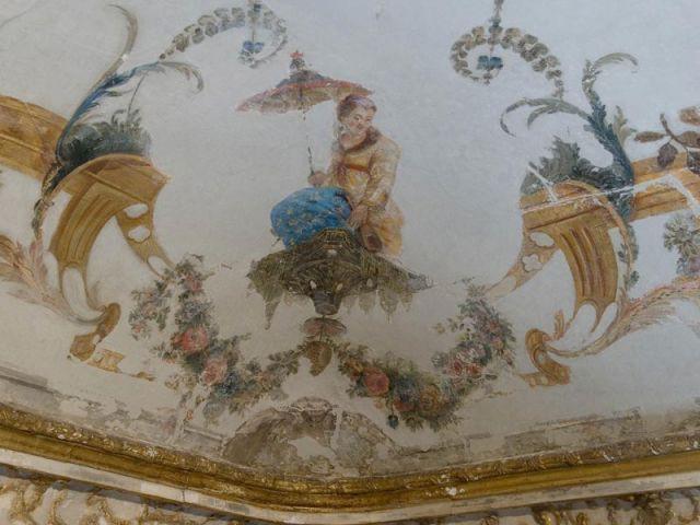 Plafond Grande Singerie Chantilly