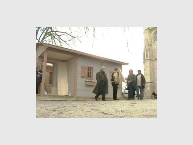 Vue d'ensemble de la maison - Emmaus maisons bois