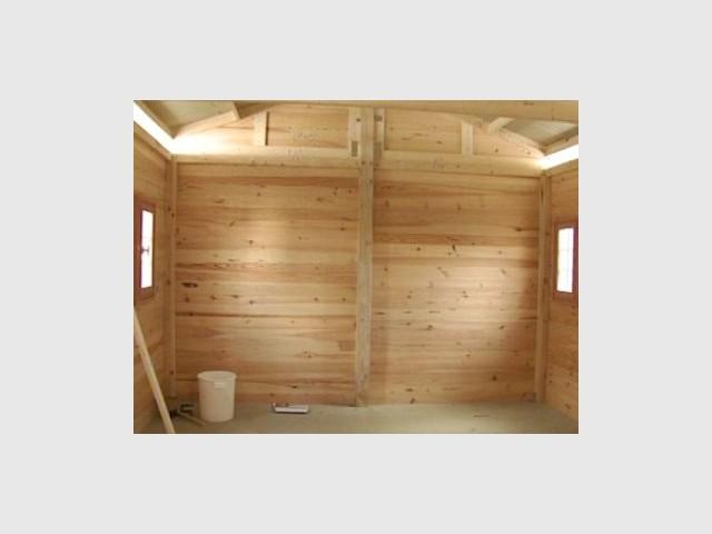 Vue intérieure - Emmaus maisons bois
