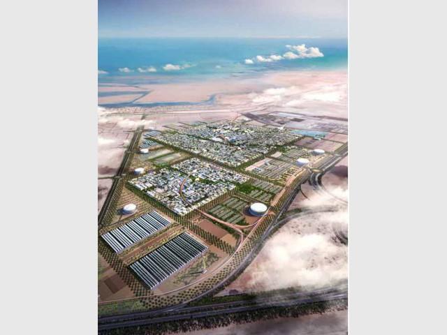 Centrale solaire - Masdar