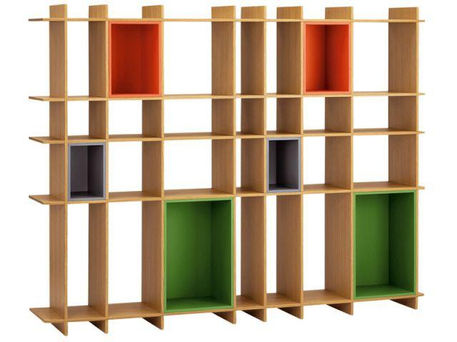bibliothèque à panneaux dossiers - Bibliothèque