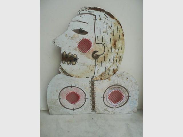 La dame aux seins - Catherine Ursin - artiste