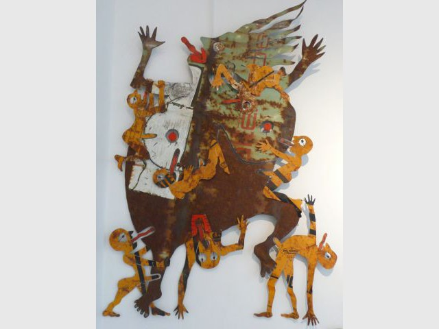 La femme punaise - Catherine Ursin - artiste