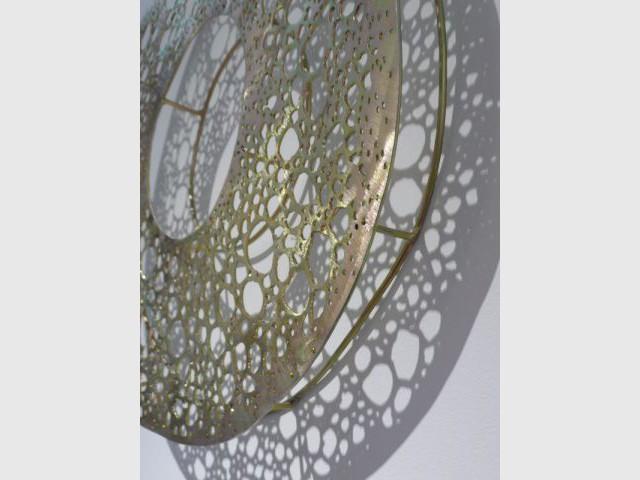 Détail cercle - Kazuyo Yamamoto - artiste