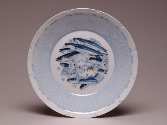 Assiette plate - Sèvres années 30