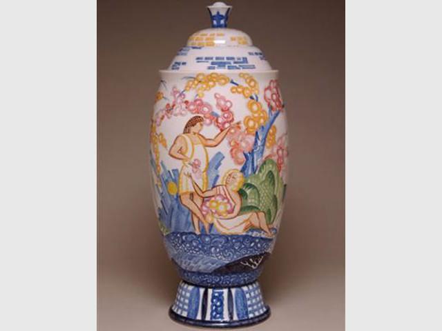 Vase Rapin - Sèvres années 30