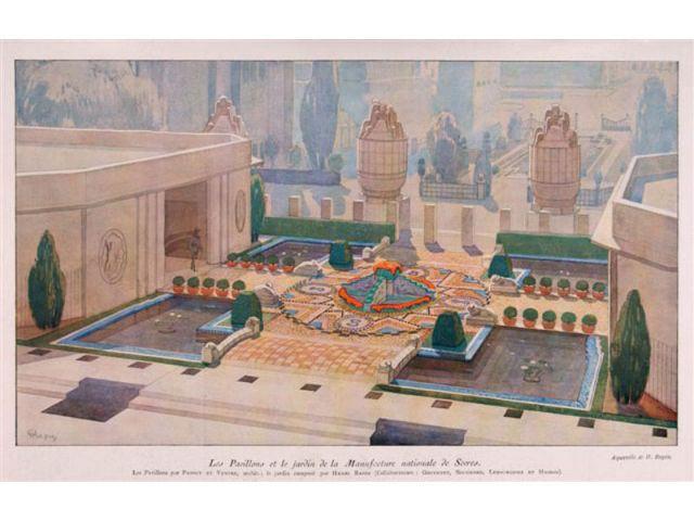 Jardin de lumière - Sèvres années 30