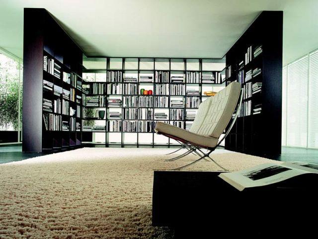 Espace de lecture - Bibliothèque
