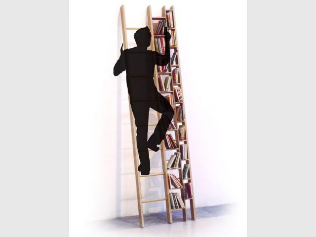 Bibliothèque échelle - Bibliothèque