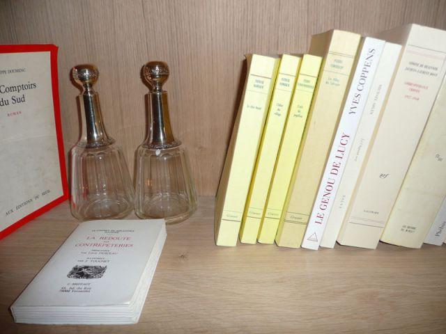 Livres & flacons - Meubles et boiseries reportage bibliothèque