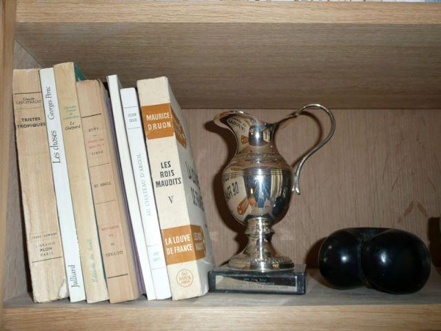 Livres & coupes - Meubles et boiseries reportage bibliothèque