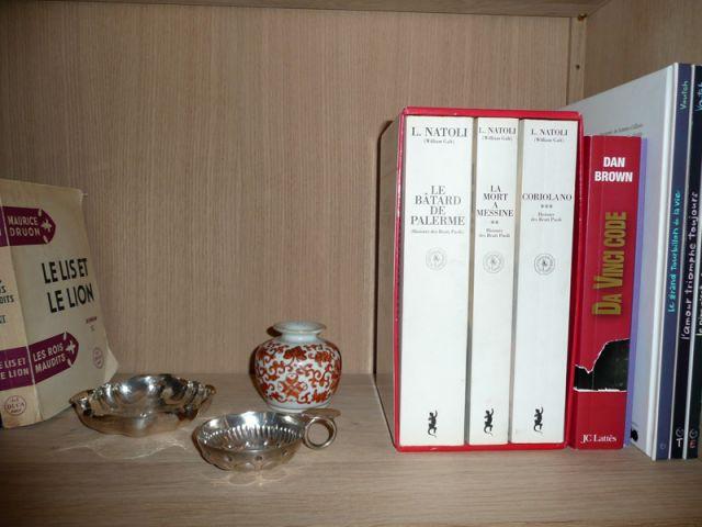 Livres et argenterie - Meubles et boiseries reportage bibliothèque