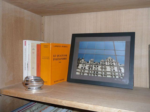 Livres & photographie - Meubles et boiseries reportage bibliothèque