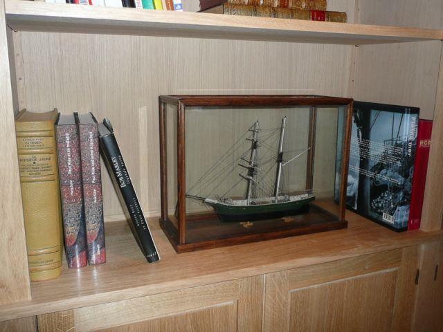 Livres & maquette - Meubles et boiseries reportage bibliothèque